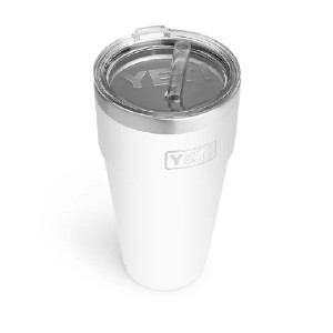 YETI RAMBLER 26 OZ STACKABLE CUP WITH STRAW LID - Best Tumbler with Straw: Packing efficiency tumbler