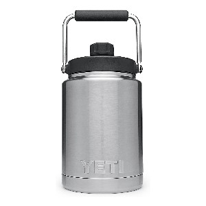 YETI Rambler Vacuum Insulated Stainless Steel Half Gallon Jug  - Best Water Jugs for Sports: Jug with Lid Insulation