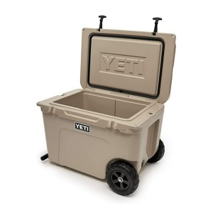 YETI Tundra Haul Portable Wheeled Cooler  - Best Cooler to Keep Ice: Fatwall for better insulation