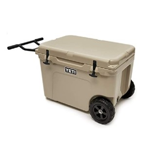 YETI Tundra Haul Portable Wheeled Cooler - Best Wheeled Coolers for the Beach: Fatwall for better insulation