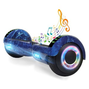 YHR 6.5 Inch Hoverboard with Bluetooth  - Best Hoverboard with Bluetooth: Tons of color options