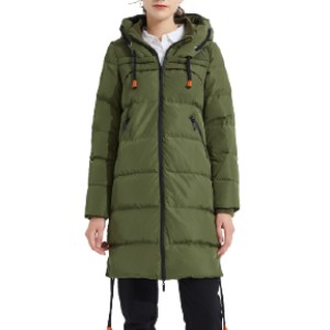 Orolay YRF0003F - Best Coats for Cold Weather: The A Line Down Coat