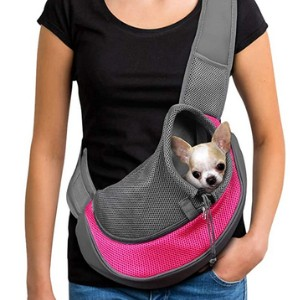 YUDODO Pet Dog Sling Carrier  - Best Pet Carrier for Small Dogs: Hands-free!