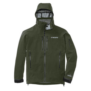 KUIU  Yukon Rain Jacket YUKON RAIN JACKET - Best Rain Jackets for Alaska: 20,000mm Waterproof Breathable Membrane