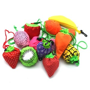 YUYIKES 10pcs Fruits Reusable Grocery Bags - Best Washable Shopping Bags: Perfect for kids