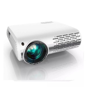 Yaber Y30 Native 1080P Projector - Best Projectors for Bedroom: HD Projector with ± 50 ° 4D