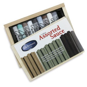 Yarka Assorted Sauce Classic Drawing Crayons - Best Crayons for Artists: Soft Pastel Crayon