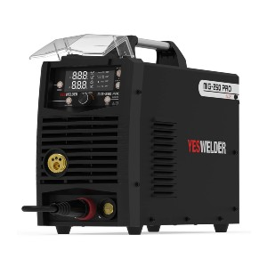YESWELDER MIG Welder 250A - Best Welding Machines for Aluminum: Work with Gasless Flux Wire Perfectly