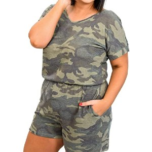 Yskkt Womens Plus Size Rompers  - Best Romper for Plus Size: Best for lounging