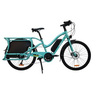 Yuba Electric Boda Boda Step-Through Bike - Best Electric Bike for Delivery: It charges quickly