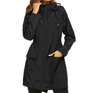 Yxiuexur Rain Jacket for Women  - Best Raincoats for College Students: Skin-friendly and Fashionable