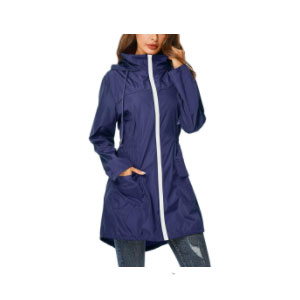 ZEGOLO Rain Jacket Windbreaker  - Best Raincoats Under $100: Lightweight and Stylish Rain Jacket