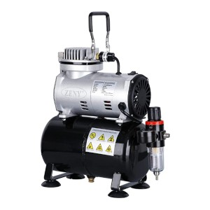 ZENY Pro  - Best Airbrush Compressors: More powerful