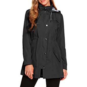 ZHENWEI Womens Active Outdoor Rain Jacket - Best Raincoats for Iceland: Shield you from wind and rain