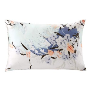 ZIMASILK 100% Natural Silk Pillowcase for Hair and Skin Health - Best Silk Pillowcase on Amazon: Chic Pillowcase with Floral Pattern