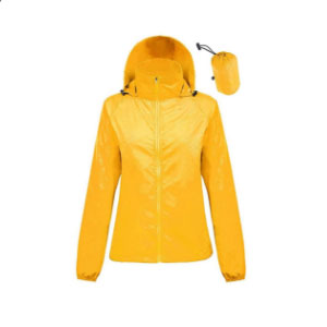 ZIMCA Unisex Packable Lightweight UV  - Best Raincoats for Women: UV Rays Protection