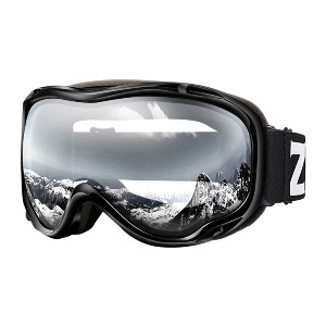 ZIONOR Lagopus Ski Snowboard Goggles  - Best Goggles for Night Skiing: Helmet Compatible and OTG Goggle