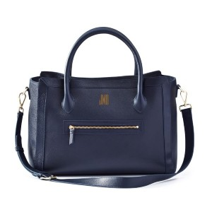 Mark & Graham Zoe Leather WFH Tote  - Best Tote Bags for Laptops: Wipe Clean with a Damp Cloth