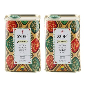 ZOE Organic Extra Virgin Olive Oil - Best Olive Oil for Frying: Rich Aromas