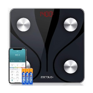 ZOETOUCH Digital Smart Bathroom Scale - Best Weight Scale with BMI: Affordable smart scale