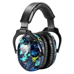ZOHAN EM030  - Best Shooting Hearing Protection: Cute and Cool Color for Funky Style