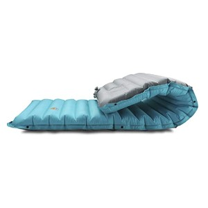 ZOOOBELIVES Extra Thickness Inflatable Sleeping Pad  - Best Sleeping Pads for Winter Camping: With a built-in air pump