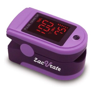 Zacurate Pro Series 500DL Fingertip Pulse Oximeter - Best Pulse Oximeter for Medical Use: Easy to use
