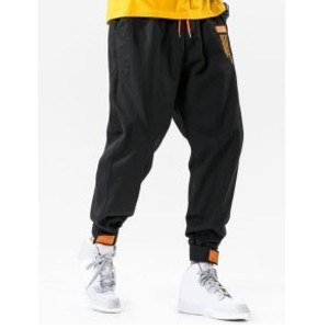 Zaful Hook Loop Hem Drawstring Cargo Pants - Best Cargo Pants Streetwear: Jogger Pants-Like Pants
