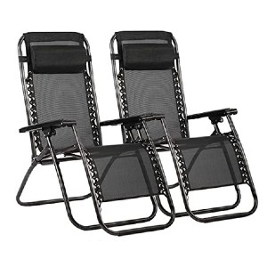 FDW Zero Gravity Chair - Best Folding Lounge Chair: Highly adjustable