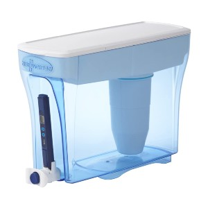 ZeroWater 23 Cup Water Filter Pitcher - Best Water Filter on Amazon: Excellent push-to-pour spigot