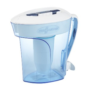 ZeroWater ZP-010 10 Cup Water Filter Pitcher - Best Water Filter on Amazon: 5-stage filter technology