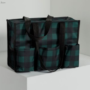 Thirty One Zip-Top Organizing Utility Tote - Best Bags for Teachers: Monogramming and Personalization Options Available