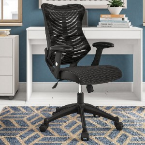 Zipcode Design™ Bret Ergonomic Mesh Task Chair - Best Office Chair for Sciatica: Great Back Design