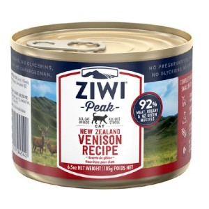 Ziwi Peak Venison Recipe Canned Cat Food - Best Food for Cat to Gain Weight: Nutrient-Dense Canned Food