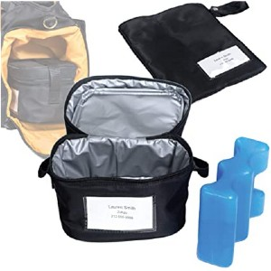Zohzo Breastmilk Compact Cooler Bag  - Best Cooler Bag for Breast Milk: The most affordable
