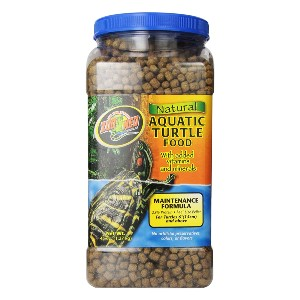 Zoo Med Natural Aquatic Turtle Food - Best Food for Turtle Growth: Nourishment Food