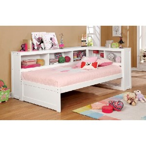 Zoomie Kids Nokes Full Daybed - Best Full-Size Daybeds: Bookshelf-Style Daybed