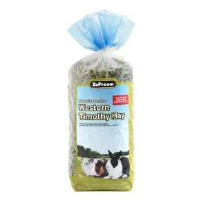 ZuPreem Nature's Promise Western Timothy Hay Small Animal Food - Best Hay for Baby Rabbit: Good for Multi-Rabbit