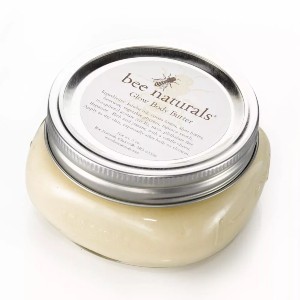 bee naturals Glow Body Butter - Best Body Butter for Glowing Skin: Yummy Mango Scented Butter