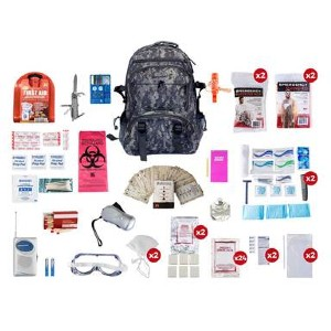 BlackHawk 2 Person Deluxe Survival Kit - Best Emergency Preparedness Kits: Hand-Assembled in the USA