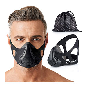 coher Training Mask 24 Breathing Resistance Levels - Best Masks for Working Out: Compatible with All Types of Training;