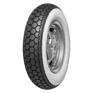CONTINENTAL Conti K62 Classic Scooter Tire - Best Tires for Classic Vespa: Vintage style! Blackwall, Whitewall!