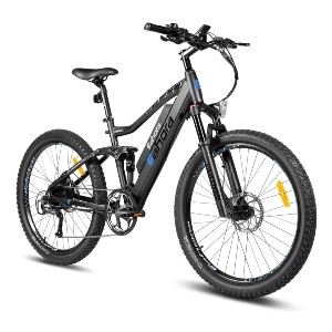 eAhora AM100 27.5IN Electric Mountain Bicycle  - Best Electric Bike with Throttle: Linked to the E-PAS device