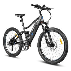 eAhora AM100 27.5IN Electric Mountain Bicycle  - Best Electric Bike for Delivery: Recharges the power back
