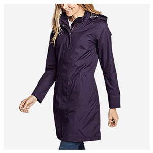 Eddie Bauer Girl on the Go® Trench Coat - Best Rain Jackets for Scotland: Flattering Fit and Fashionable
