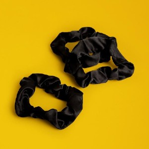 PATTERN Satin Scrunchies - Best Silk Scrunchies: Features an Extra Wide, Super Stretchy Inner