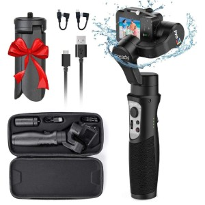 Hohem iSteady Pro3 - Best Camera Stabilizers for GoPro: Smooth Gimbal Stabilizer