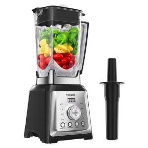 homgeek Countertop Blender - Best Blender for Smoothie Bowls: Perfect for Making Large Batches of Creamy