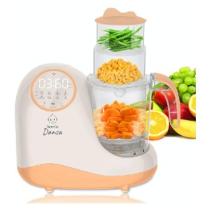 homia Baby Food Maker Chopper Grinder - Best Blender Baby Food: Simply Press One Button to Steam the Food