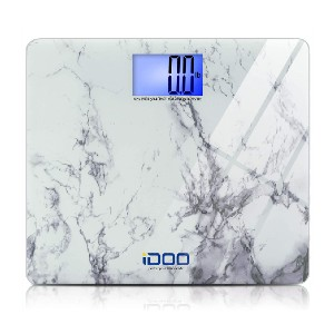 iDOO High Precision Digital Bathroom Weight Scale - Best Bathroom Scale for Heavy Person: Aesthetically-pleasing